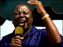 Morgan Tsvangirai, MDC leader