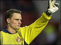 Former Sunderland goalkeeper Jurgen Macho