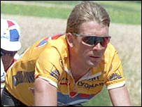 Sean Yates during his riding days