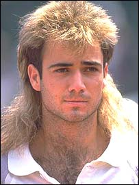 Andre Agassi in 1989