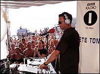 BBC Radio 1 DJ Pete Tong
