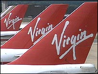 Virgin tail fins
