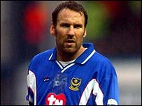 Paul Merson in action for Portsmouth
