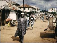 Nigerian street scene