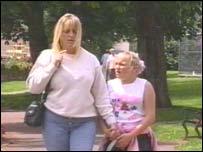 Lisa Chandler and Aimee Reynolds