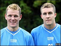 Martin Hardie and Colin Nish joined Killie for pre-season training