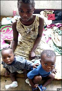 Refugees in Monrovia