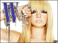 Britney Spears on W magazine front cover