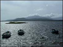 Loch Bi, South Uist - image supplied by Graham Leary
