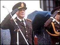 Former Argentine president, Leopoldo Galtieri.