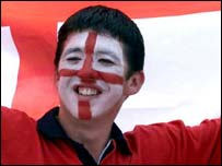 England football supporter