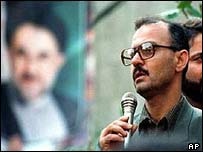 Reformist Iranian history professor Hashem Aghajari