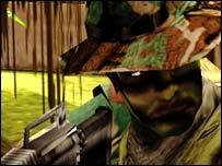 Socom screenshot, Sony