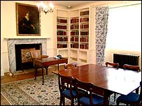 First floor library