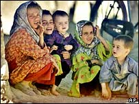 Kabul street children, AP