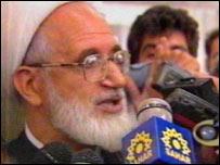 Former Iranian parliamentary speaker Mehdi Karrubi