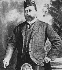 Edward VII was well known as a womaniser