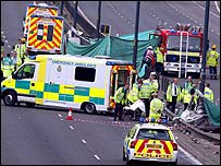 Woodford Cheshire Car Crash
