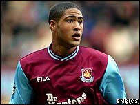 West Ham full-back Glen Johnson