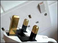 Electric plug and socket, BBC