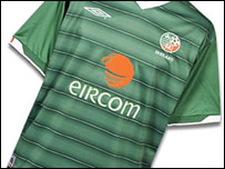 Irish national football shirt