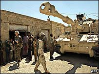 US tank in Iraq