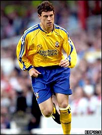 Southampton left-back Wayne Bridge