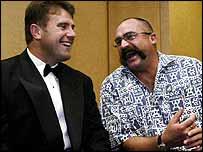 Mark Taylor and Merv Hughes