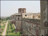 The Shish Mahal in Lahore
