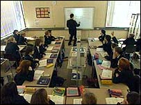 Specialist school classroom