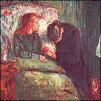 The Sick Child by Edvard Munch - 1907