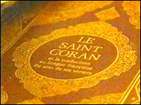 The Koran in French
