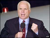Republican Senator John McCain