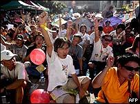 Pro-democracy rally, Hong Kong, 13 July 2003