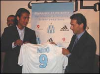 Mido and Jean-Phillipe Durand of Marseille