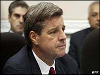 American Paul Bremer (left) will still wield ultimate power