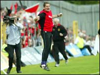 Down boss Paddy O'Rourke