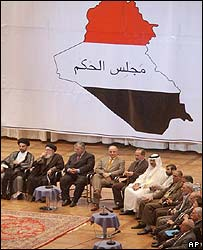 Iraq's new governing council