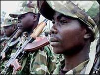 RCD rebel fighters