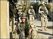 US troops fan out in Baghdad after attack on their convoy
