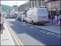 Great Darkgate Street, Aberystwyth