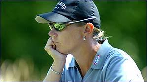 Top lady golfer Annika Sorenstam