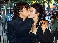 Orlando Bloom and Keira Knightley