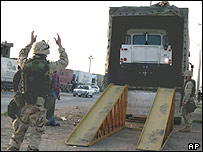 US military deployment Harbur gate