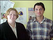 Sarah Sugden and Yasin Ekmen