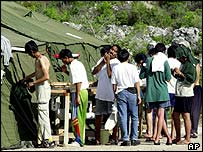 Asylum seekers on Nauru
