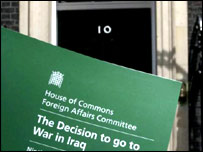 The MPs' report on war with Iraq