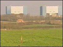Hinkley power plant