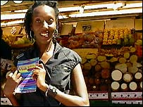 Nana Ocran with the Black London guide