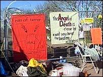 Fairford peace camp